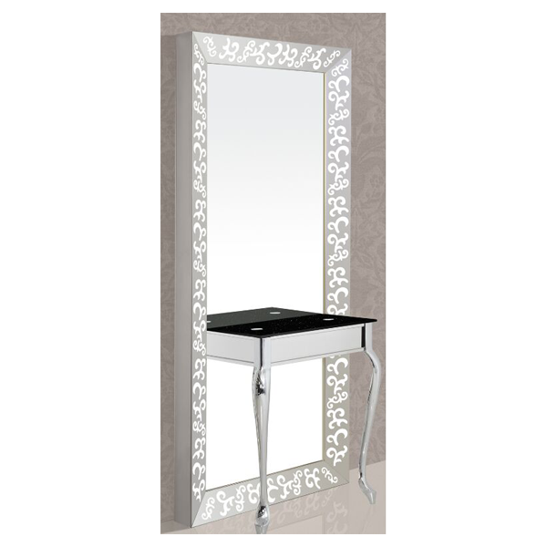 SINGLE MIRROR SILVER TV
