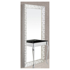 DOUBLE MIRROR SILVER TV SHORT