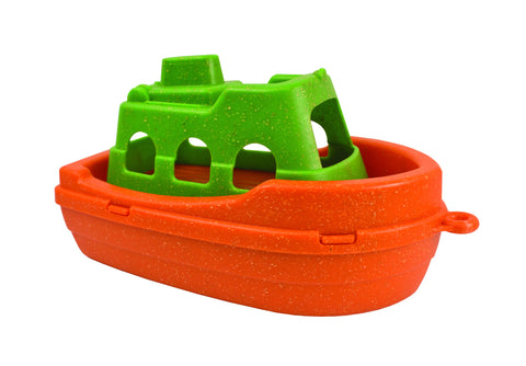 Anbac Boat/ Bath Toy - Orange