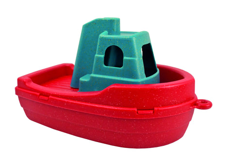 Anbac Boat/ Bath Toy - Red