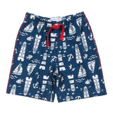 Blue lighthouse shorts - Kite - Jurnie - 1