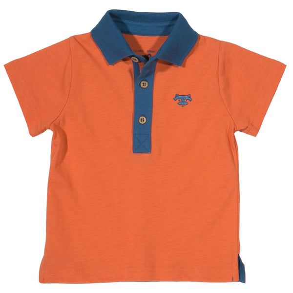 Foxy Polo Shirt - Kite - Jurnie - 1