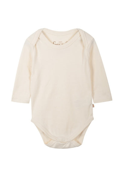 Long Sleeve Cream Vest - Frugi - Jurnie