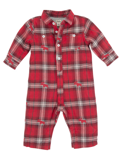 Swiss Wilderness Baby Button Down One-Piece - Hatley - Jurnie - 1