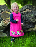 Lily Cord Dress - Duck - Frugi - Jurnie - 4
