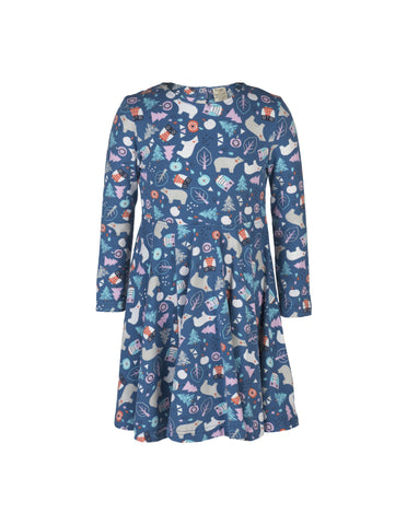 Sofia Skater Dress - Forest Friends