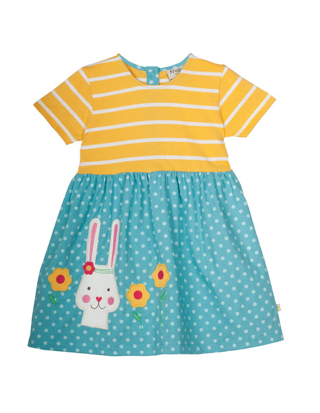 Little Prussia Dress - Bunny - Frugi - Jurnie - 1