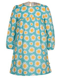 Meadow Dress - Sunflowers - Frugi - Jurnie - 1