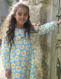 Meadow Dress - Sunflowers - Frugi - Jurnie - 4