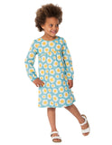Meadow Dress - Sunflowers - Frugi - Jurnie - 3