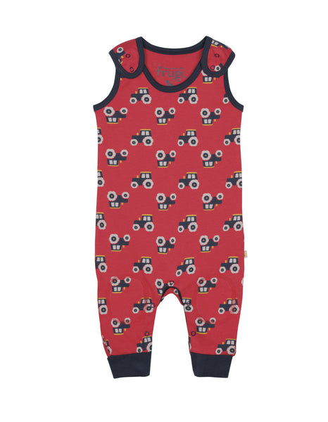 Kneepatch Dungarees - Tomato Tractor - Frugi - Jurnie