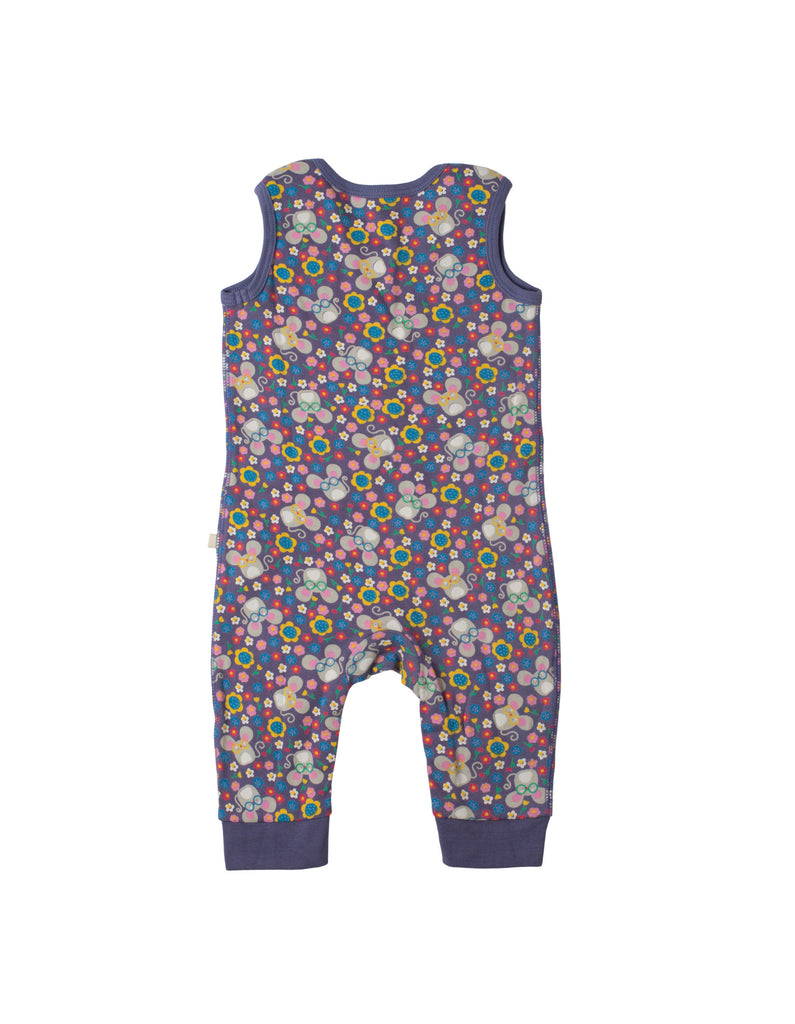 Kneepatch Dungarees - Mouse Ditsy - Frugi - Jurnie - 1