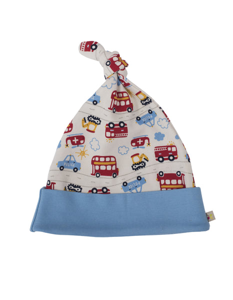 Lovely Knotted Hat - On the Road - Frugi - Jurnie - 1