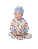 Lovely Knotted Hat - On the Road - Frugi - Jurnie - 2