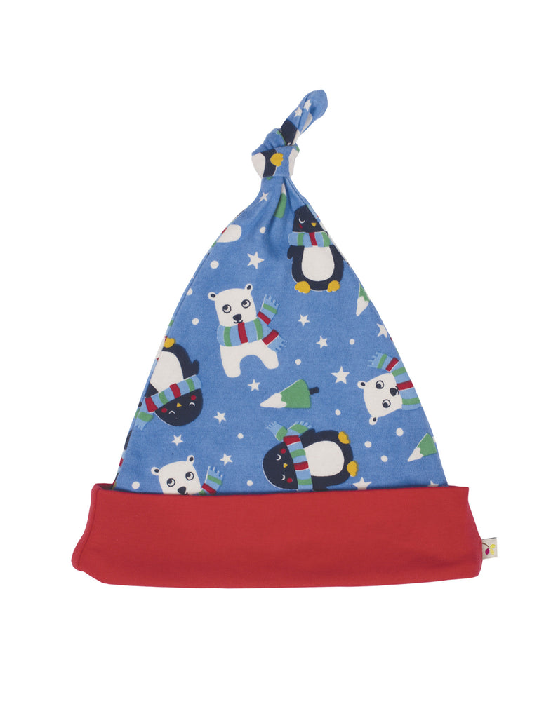 Lovely Knotted Hat - Snowy Friends - Frugi - Jurnie - 1