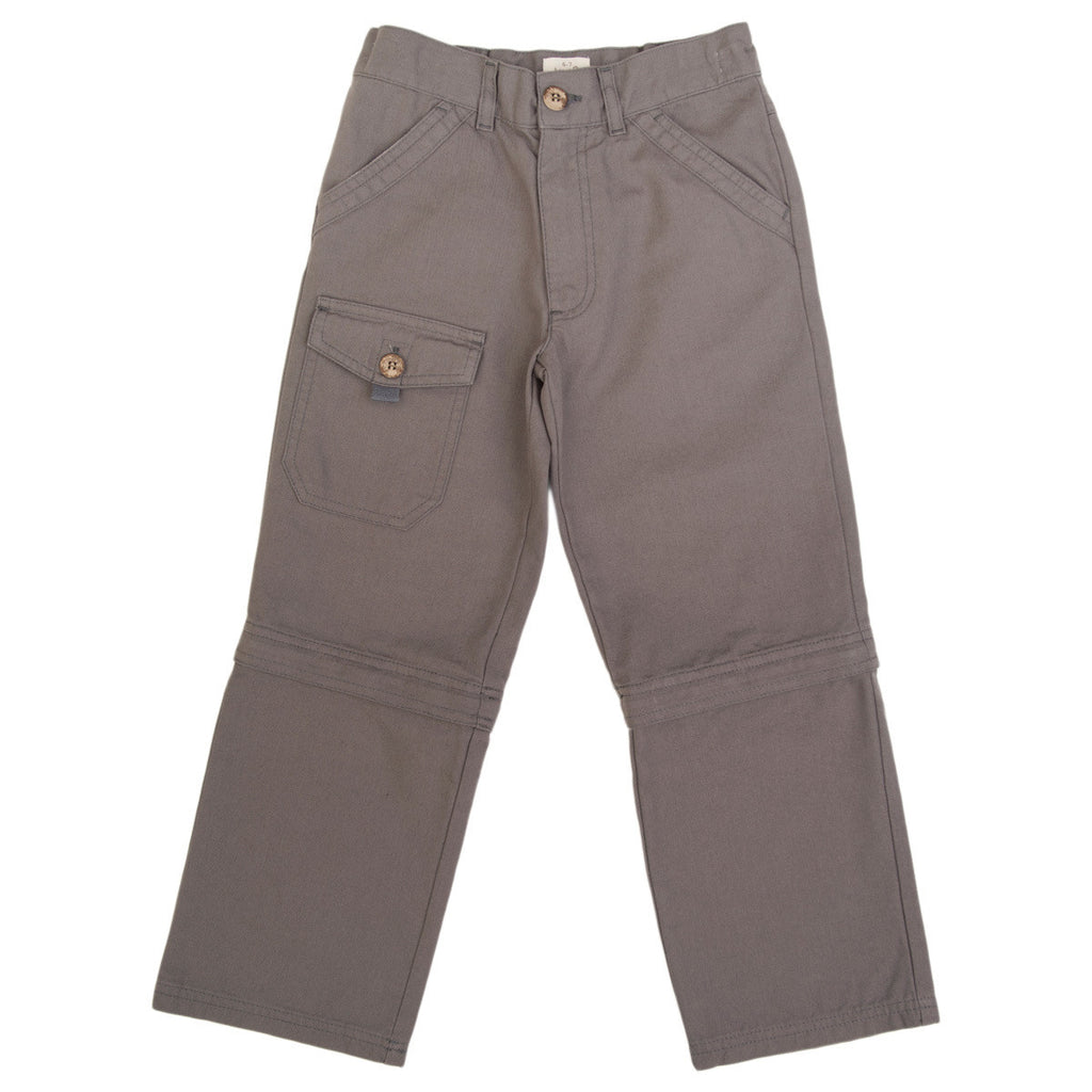 Grey zip-off trousers - Kite - Jurnie - 1