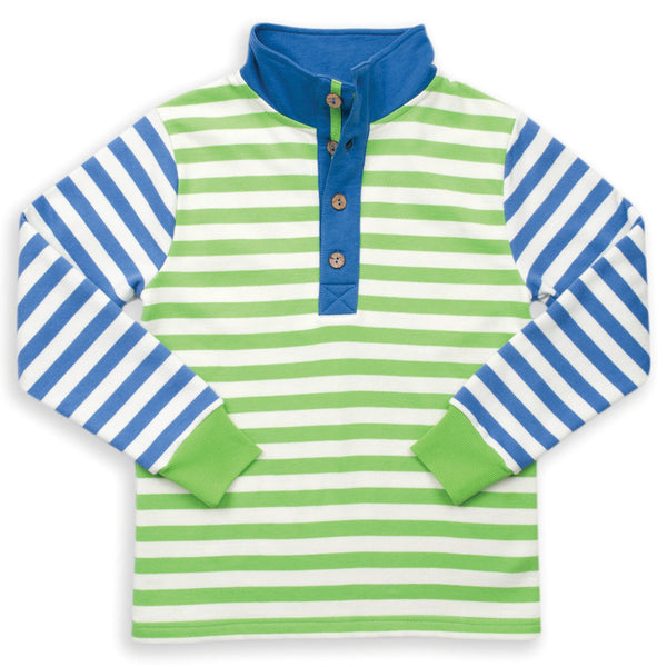 Green and blue rugby jumper - Kite - Jurnie - 1