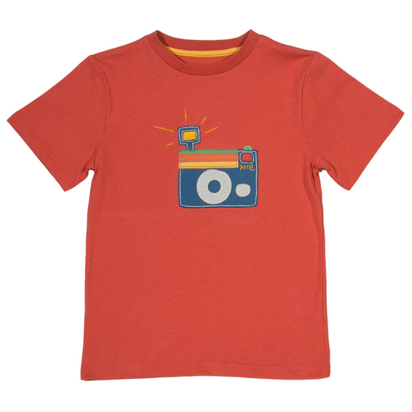 Camera T-shirt - Kite - Jurnie - 1
