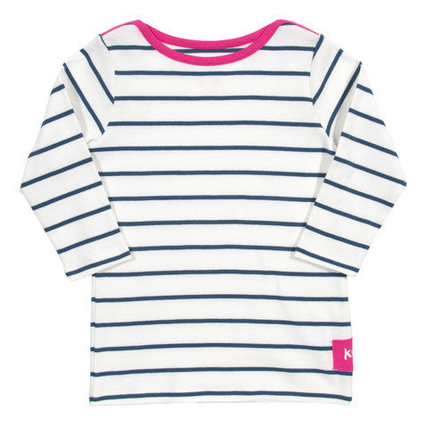 3/4 sleeve nautical top