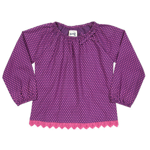 Polka Dot Blouse - Kite - Jurnie - 1