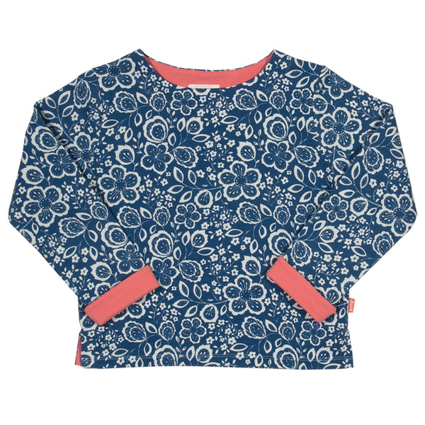 Wildflower Sweatshirt - Kite - Jurnie - 1