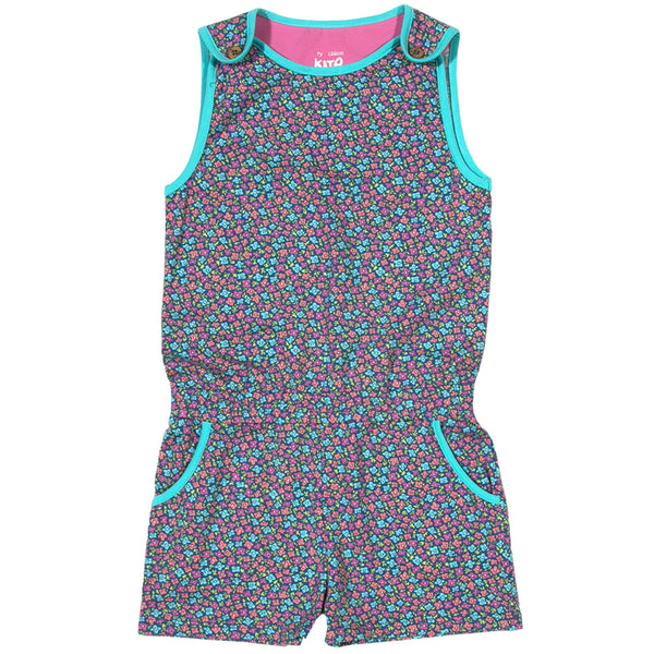 Ditsy Playsuit - Kite - Jurnie - 1