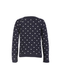 Dotty Cardigan - Navy/Cloud - Frugi - Jurnie - 3