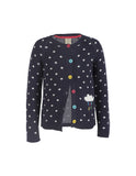 Dotty Cardigan - Navy/Cloud - Frugi - Jurnie - 2