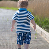 Blue lighthouse shorts - Kite - Jurnie - 3