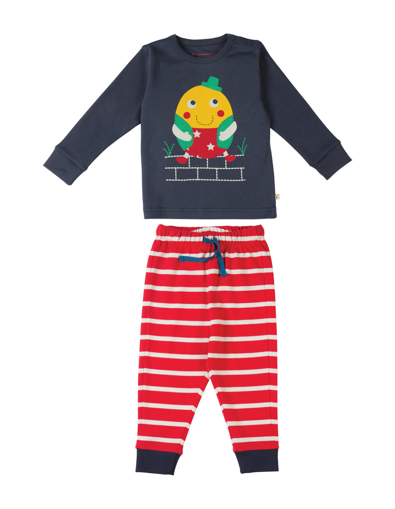 Little Long John PJs - Humpty Dumpty - Frugi - Jurnie - 1