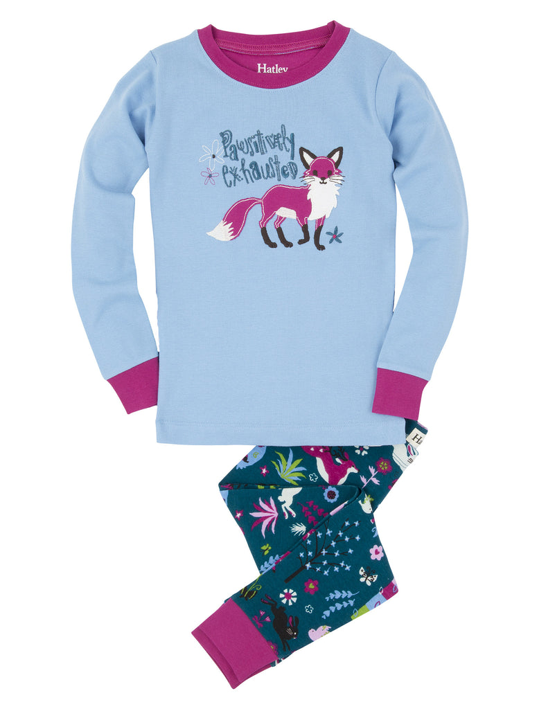 Hatley Pyjamas - Pawsitively Exhausted - Hatley - Jurnie - 1