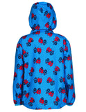 Puddle Buster Packaway Jacket -  Rainy Day Tractor - Frugi - Jurnie - 2