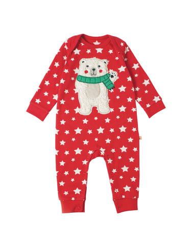 Charlie Romper - Tomato Twinkle Star