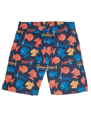Board Shorts - Pirate Fish