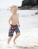 Board Shorts - Pirate Fish - Frugi - Jurnie - 3