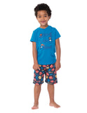 Board Shorts - Pirate Fish - Frugi - Jurnie - 4