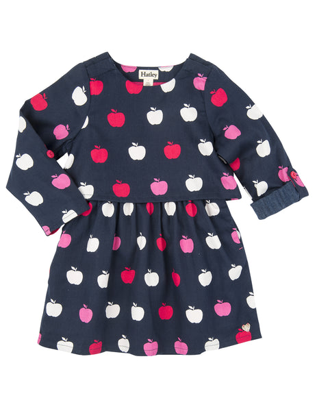 Hatley Nordic Apples Cotton Dress - Hatley - Jurnie - 1