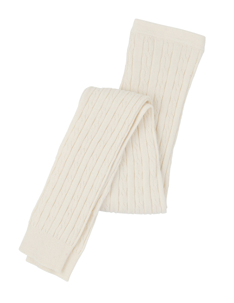 Hatley Cream Cable Knit Tights - Hatley - Jurnie - 1