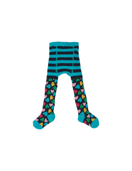 Little Norah Tights - Hearts - Frugi - Jurnie - 1