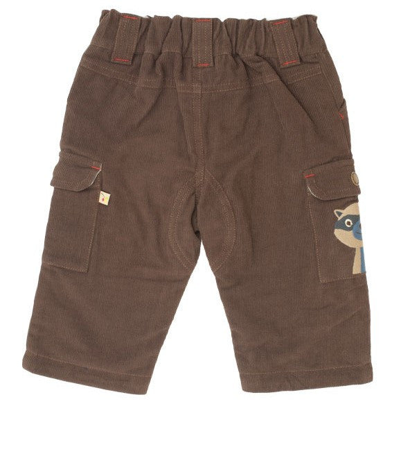 Lined combat trousers (racoon) - Frugi - Jurnie - 1