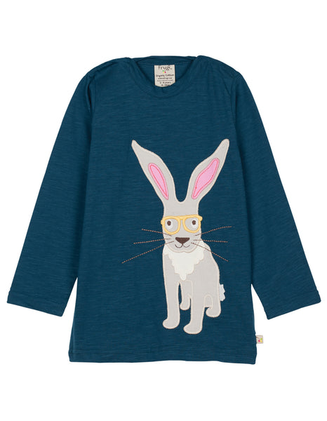 Eliza Applique Top - Hare - Frugi - Jurnie - 1