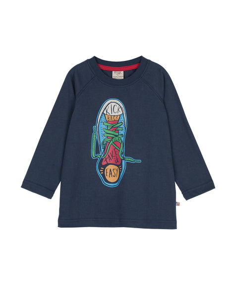 Harry Printed Top - Sneaker - Frugi - Jurnie - 1