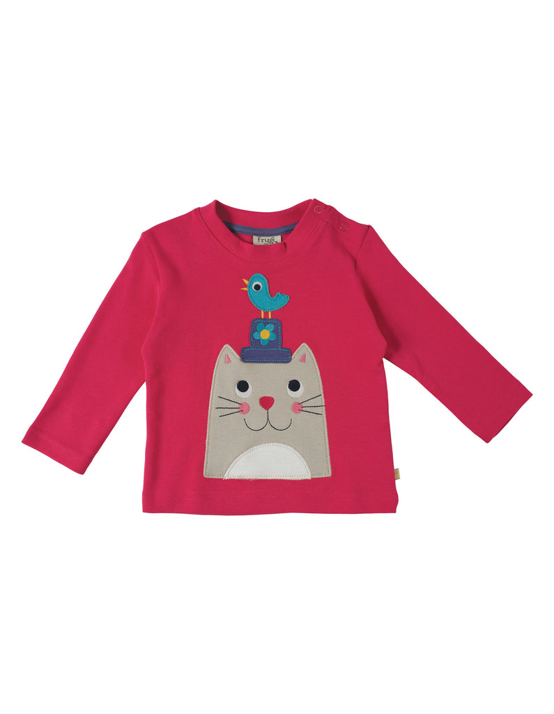 Little Discovery Top - Cat - Frugi - Jurnie - 1