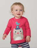 Little Discovery Top - Cat - Frugi - Jurnie - 3
