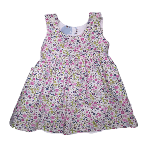 Reversible Pinafore - Cats/ Wild Flower - Ruth Lednik - Jurnie - 1