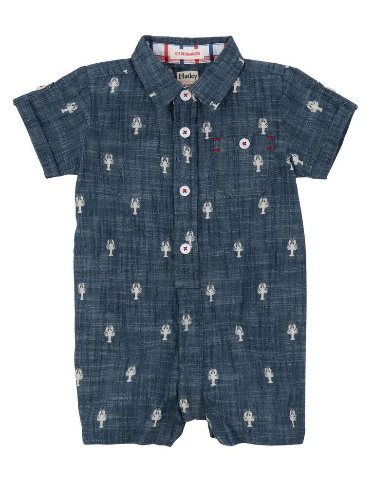 Retro Nautical Lobster Shortall - Hatley - Jurnie