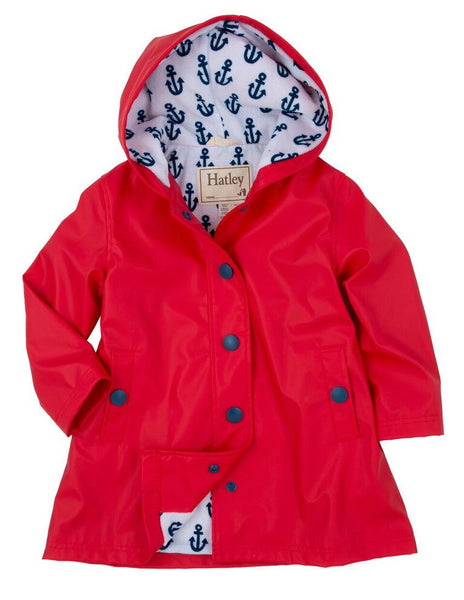 Red Anchors Splash Jacket - Hatley - Jurnie - 1