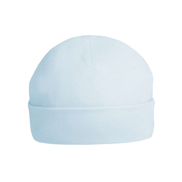 Blue cotton premature baby hat - Nursery Time - Jurnie