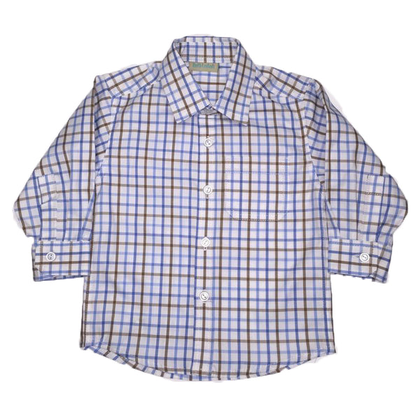 Long Sleeve Cotton Shirt - Ruth Lednik - Jurnie