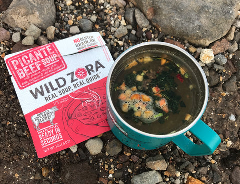 Wild Zora Soup in Wilderness